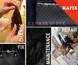 鞄修理・バック修理・サイフ修理の事なら革製品のリペア専門店のRAFIX
